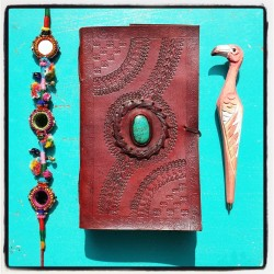 BOHEMIAN LEATHER JOURNAL