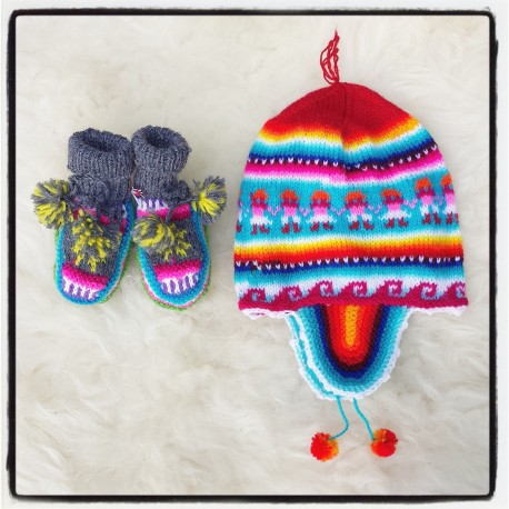 Funky Hippy Baby Giftset 1