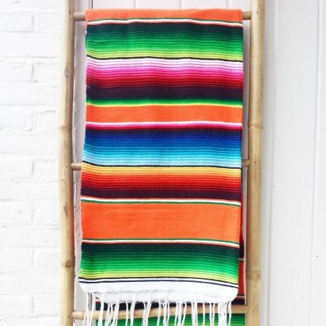Mexicaanse deken Sunset Orange